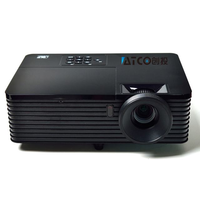 5500 люмен с 1.1X зумом DLP 3D Проектор 1080 P HD Дневного Обучения/Деловая Встреча/Реклама Proyector Бимер проэктор