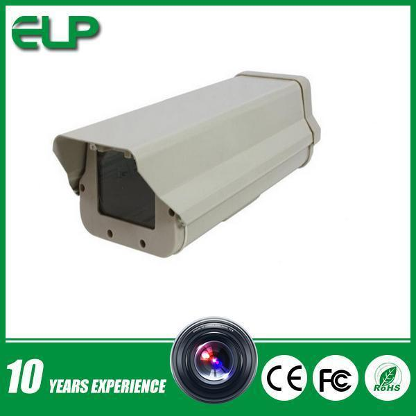 Outdoor waterproof metal CCTV camera Housing with heat and blower ELP-H02 wistino cctv camera metal housing outdoor use waterproof bullet casing for ip camera hot sale white color cover case