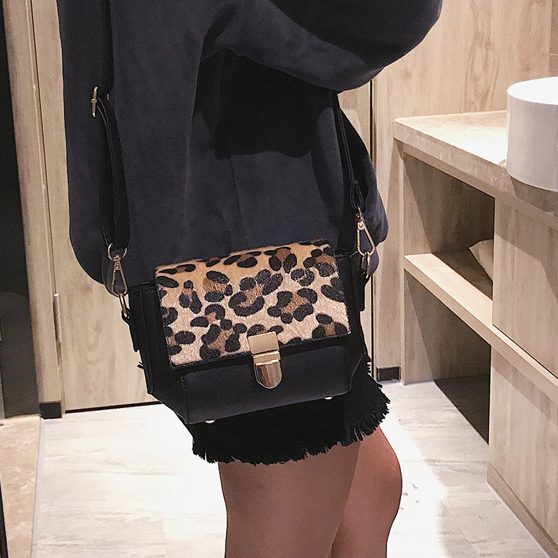 GYKAEO Ladies Leopard Evening Clutch Bags 2018 Winter Small Korean Style Shoulder Bags for Women Casual Shopping Messenger Bag 4