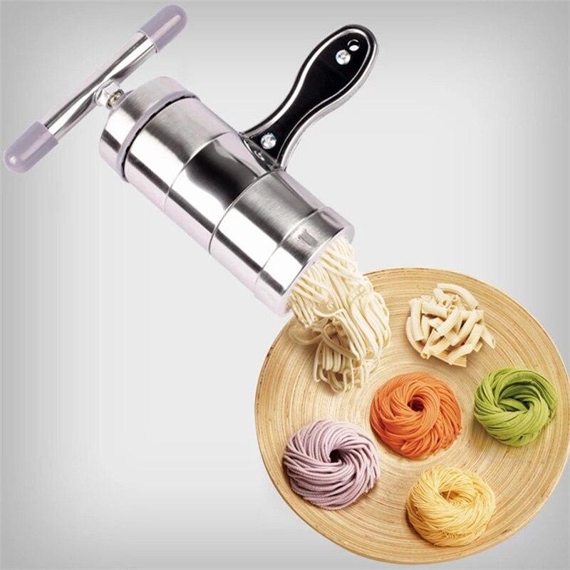 Haushalt edelstahl Pasta Maschine Drücken Maschine Manuelle Presse Hause Küche Liefert Kleine Nudeln, Der Werkzeuge