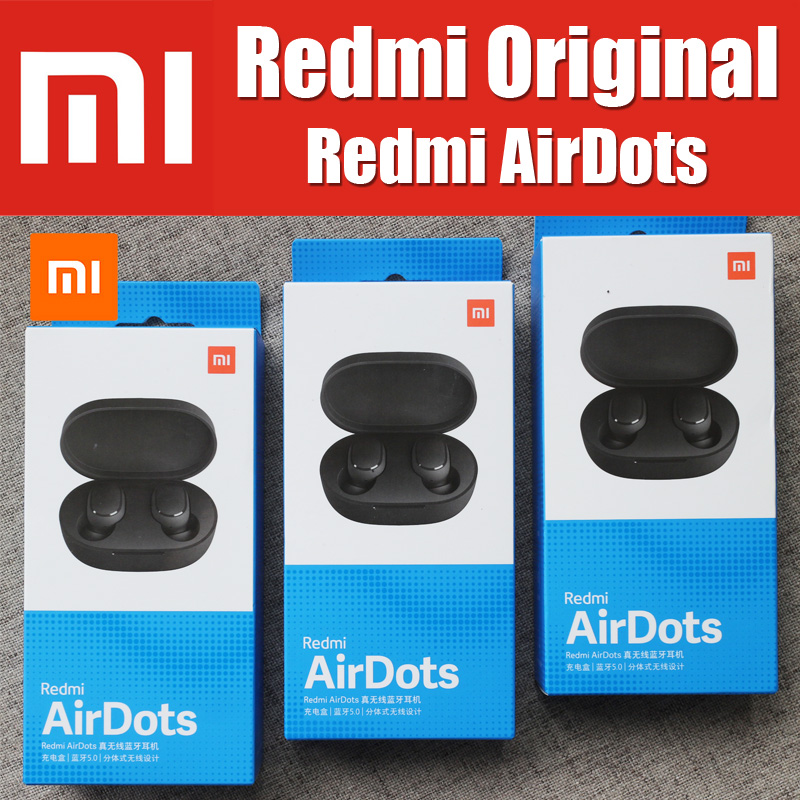 TWSEJ04LS 4.1g Xiaomi Original Redmi AirDots True wireless bluetooth 5.0 Earphones DSP Active Noise Cancellation headsetTWSEJ04LS 4.1g Xiaomi Original Redmi AirDots True wireless bluetooth 5.0 Earphones DSP Active Noise Cancellation headset