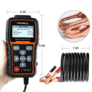 Image 5 - Foxwell BT705 12V 24V Auto Batterie Tester System Diagnostic Analyzer Tool Regelmäßige Überflutet AGM GEL Typ Auto Lkw batterie Analyzer