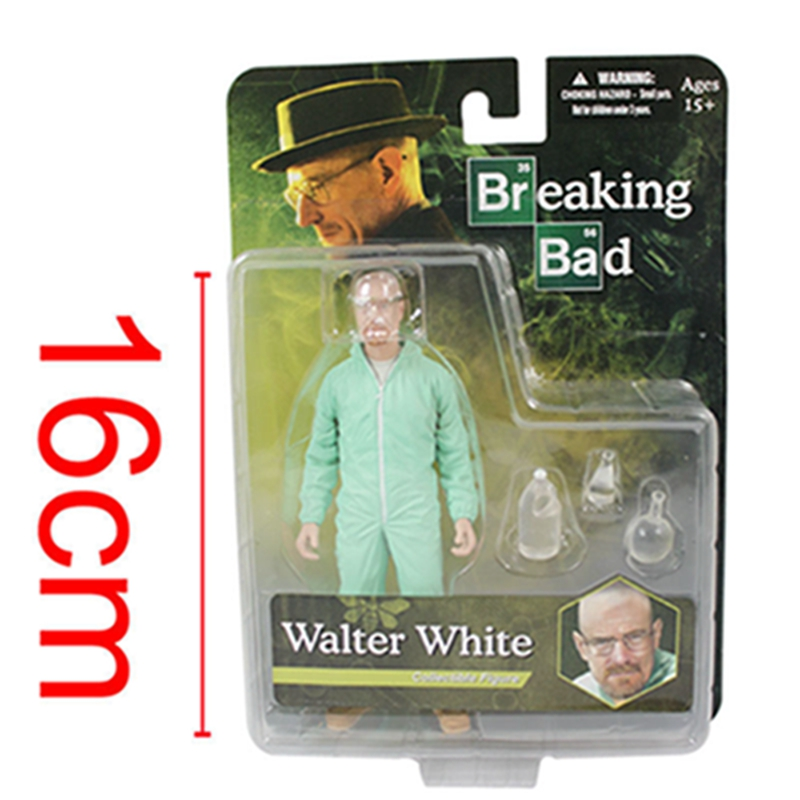 Movie Breaking Bad Heisenberg Walter White In Green Hazmat Suit Collectible Figure Toy huade solenoid valve 4we6g61b cg24n9z5l hydraulic valve directional control valve