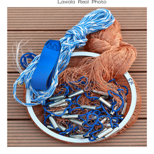 Lawaia Net Small For Fishing Mesh China Fishing Net Cast Fishing Tire Cord Folding Mesh Fly Folding 3m Craft Fish Net 2.4m-7.2m