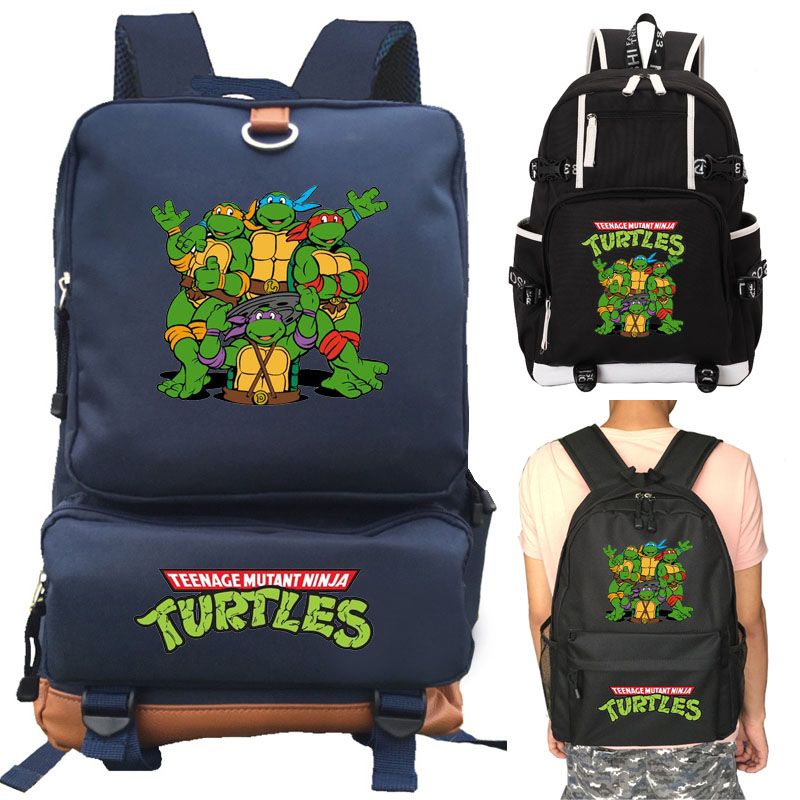 Teenage Mutant Ninja Turtles school bag Starry sky backpack student school bag Notebook backpack Leisure Daily backpack цены онлайн