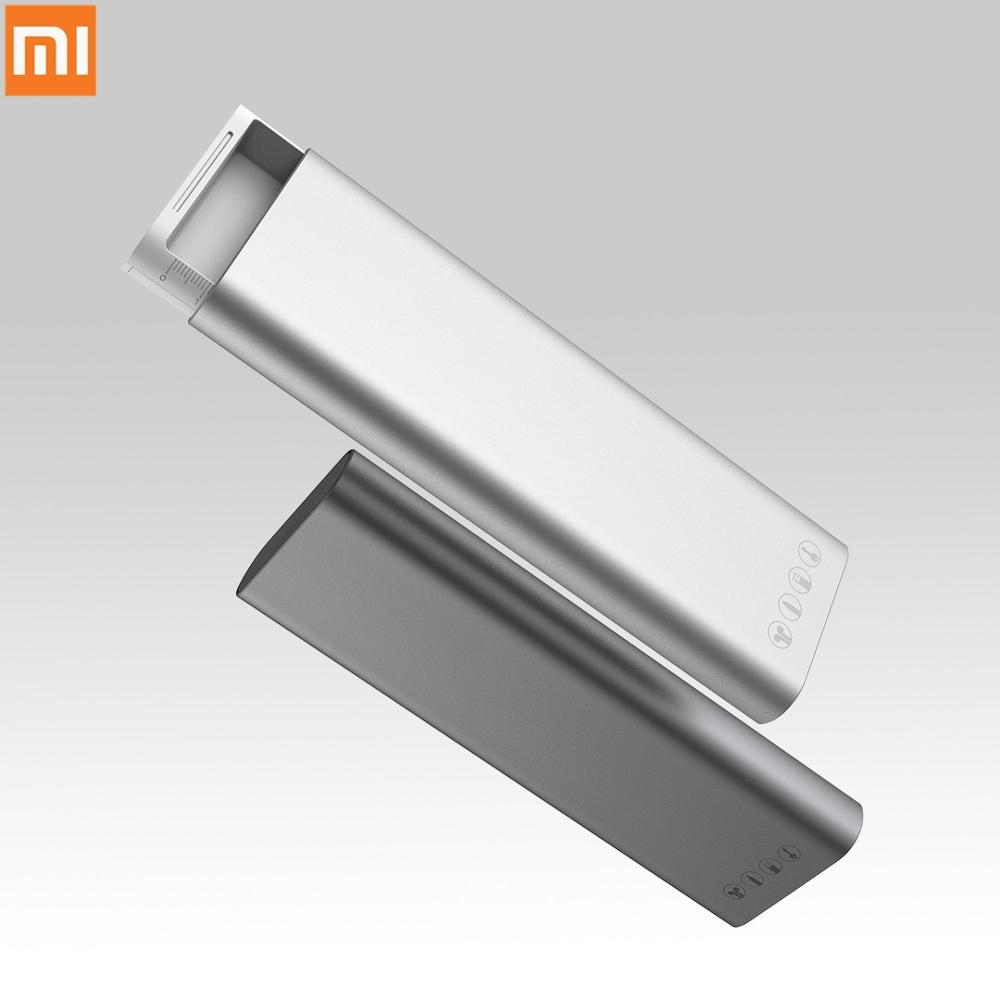 Xiaomi Miiiw Pencil Case Aluminum Alloy Multifunction Stationery Box Press Pop-up Switch For Apple Pencil2 Earphone Data Cable