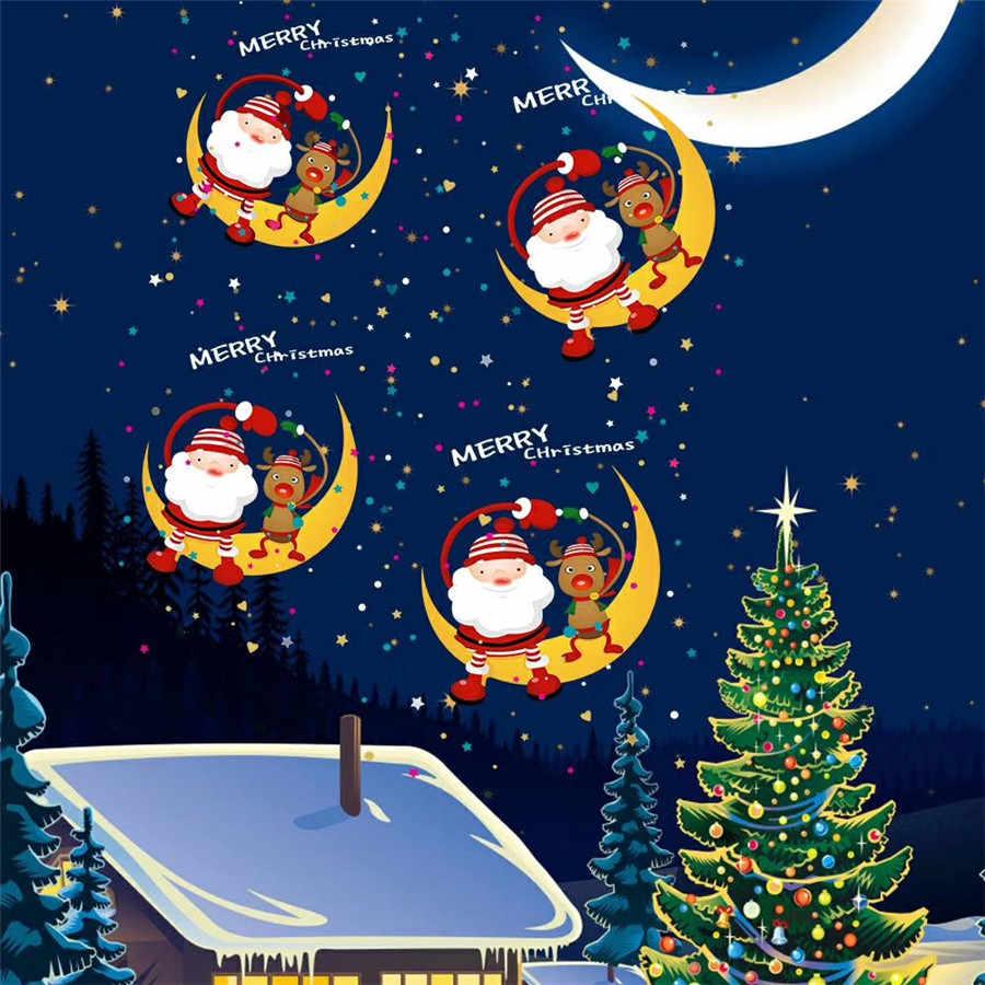 Thrisdar di Natale HA CONDOTTO LA Luce Del Proiettore Animata 8 Modelli Outdoor Halloween Festa di Nozze Luce Della Fase del Laser Della Lampada Del Proiettore