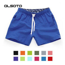 Swimwear Swim Shorts Trunks Beach Board Swimming Short Quick Drying Pants Swimsuits Mens Running Sports Surffing shorts homme(China)