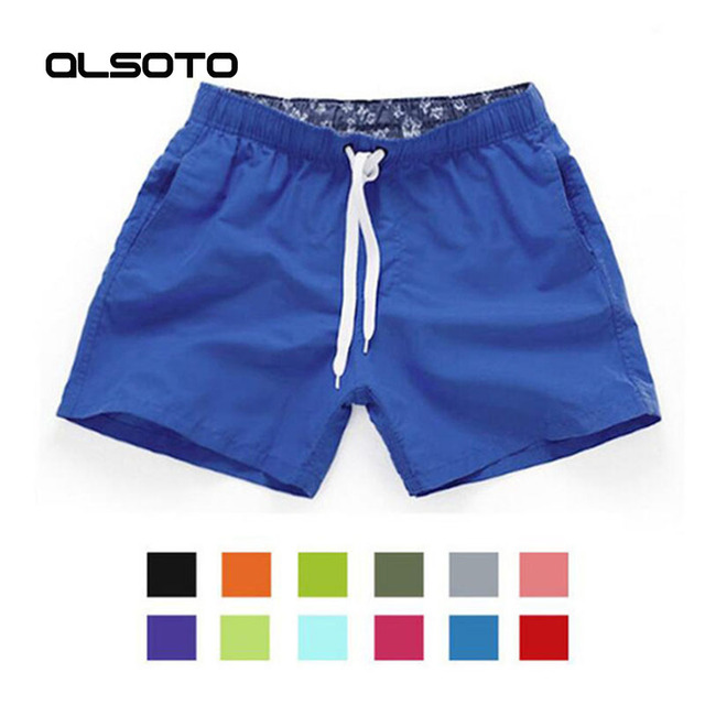 98143a20be Swimwear Swim Shorts Trunks Beach Board Swimming Short Quick Drying Pants  Swimsuits Mens Running Sports Surffing shorts homme