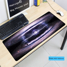 Mairuige Space Earth mousepad Gaming Lock edge mouse pad Extended Waterproof Anti-slip Natural Rubber Desk Mat for LOLCSGO dota