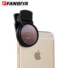 FANBIYA Smooth Cellphone Lens Smartphone Digital camera Lenses Cell Cellphone Dim Moonlight Filter Photograpy Panorama Lens for iphone samsung