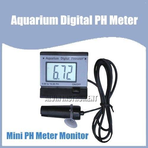 Free Shipping Mini PH Meter Monitor (Aquarium) free shipping mini ph meter monitor aquarium