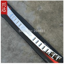 High Quality Stainless Steel Rear Bumper Protector Sill plate Trunk Trim for toyota camry 2012 2013