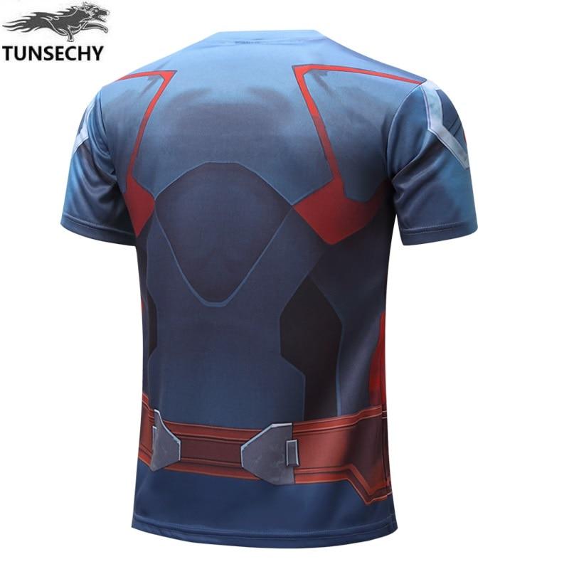 Batman Spiderman Ironman Superman Captain America Winter soldier T shirt Avengers Costume Comics Superhero mens 32
