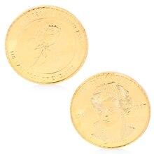 Фигурка принцесса Диана из эльского розового золота покрытием памятные коллекционные монеты искусство подарок W15#20/12