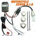 4in1 Universal H6M/H4/P15D25-3/S2(BA20D) 35W MOTORCYCLE Bi-Xenon Slim Hi/Lo Beam HID KITS  #CA3849