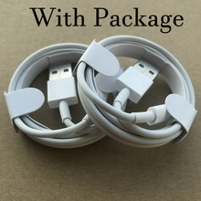 500pcs 1m OD 3.0mm AAAA Quality USB Data Charger usb Cable With aluminum foil for Phone x xs 8 7 6s plus 5s with New packaging
