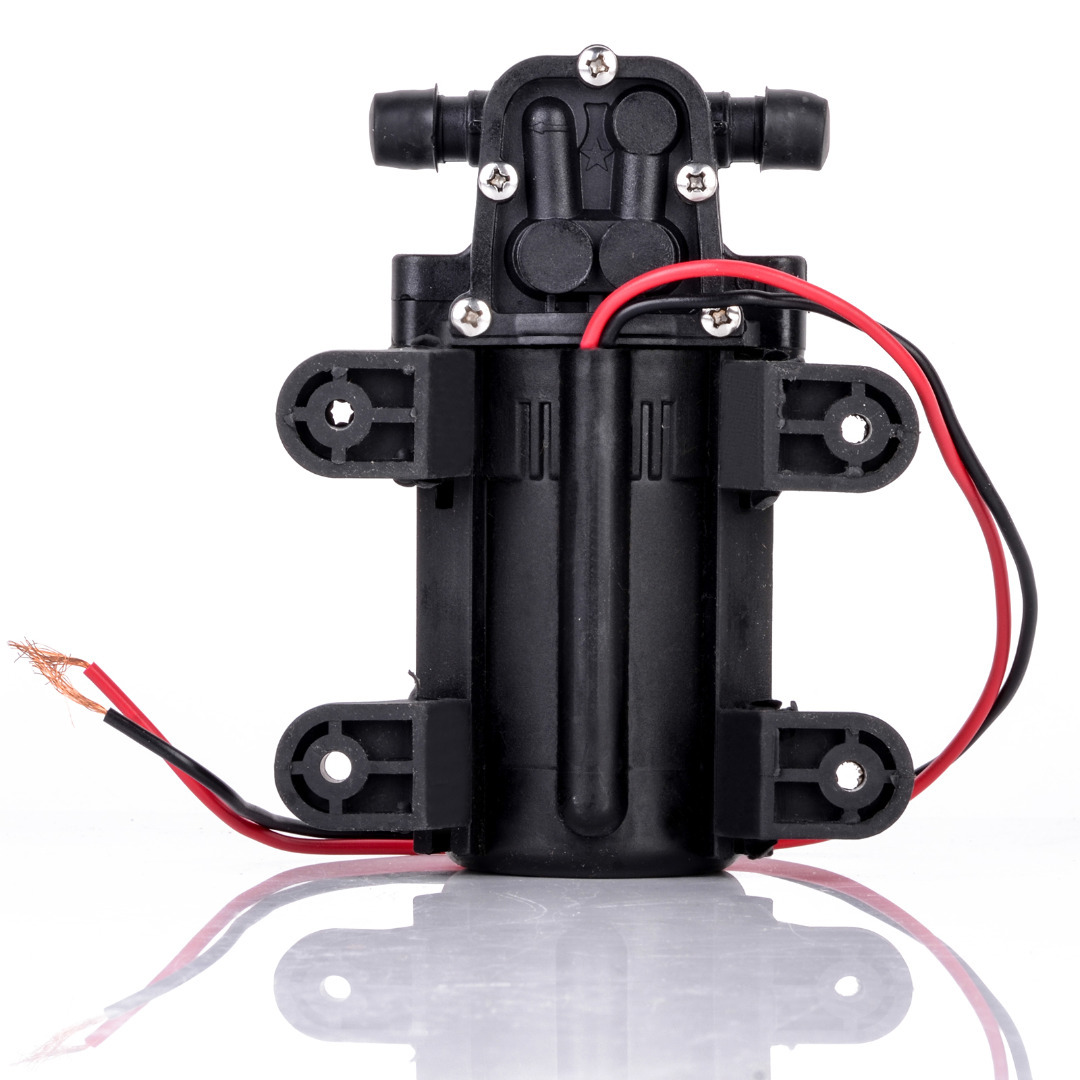 Durable DC 12V 70PSI 3.5L/min Agricultural Electric Water Pump Black Micro High Pressure Diaphragm Water Sprayer Car Wash 12 V 3