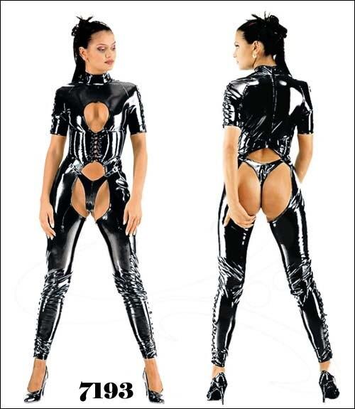 S-6XL xxxxxxl plus size Sexy Lingerie Women Latex Catsuit Faux Leather Front Zipper Crotch 2017 Bodysuit Fetish Costumes Erotic