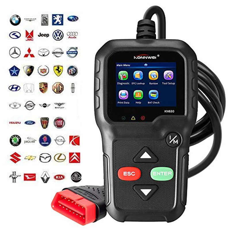 Have An Inquiring Mind Professional Obd2 Scanner Car Diagnostic Scanner Code Reader Gas Diesel Analyzer Automotive Scan Tool (2018 New Version) To Win A High Admiration And Is Widely Trusted At Home And Abroad.