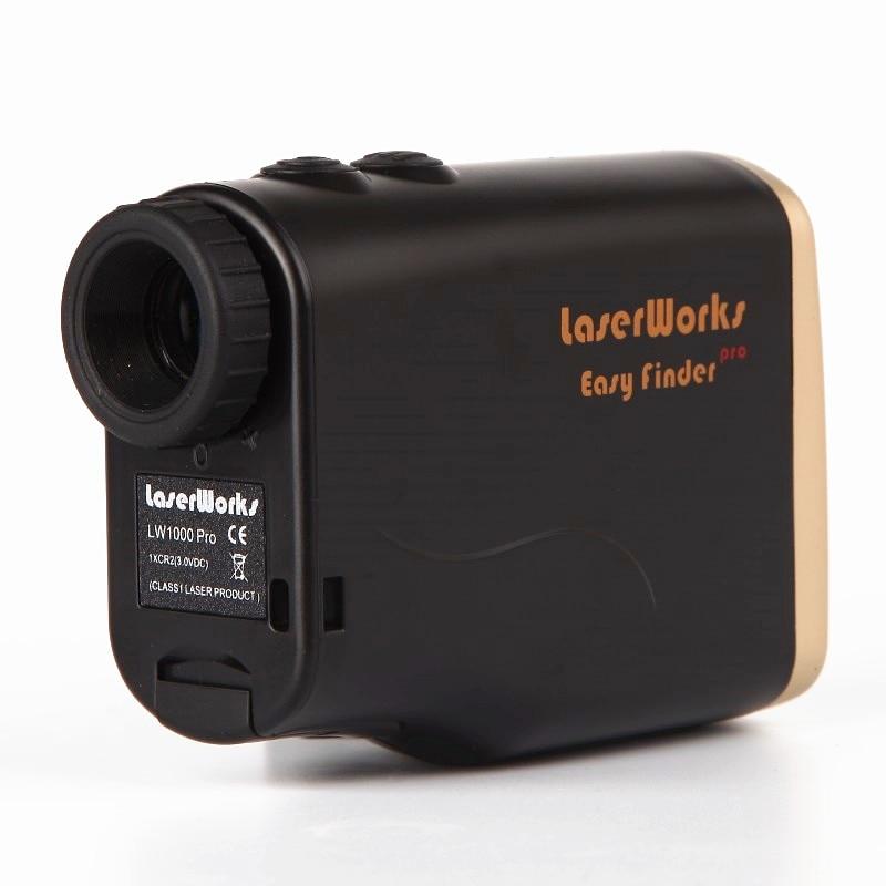 Telemetro laser portatile 1000m telemetro da caccia telescopio - Strumenti di misura - Fotografia 2