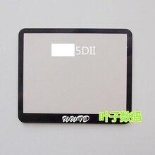 Запасные части для зеркальной камеры 5D MARK II 5DII задняя крышка ЖК-дисплей внешнее защитное стекло Защитная панель для Canon