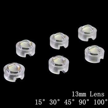 10X 13mm mini IR Lens 15 30 45 60 90 100 Degree For LED Diode Convex.ReflectorSE