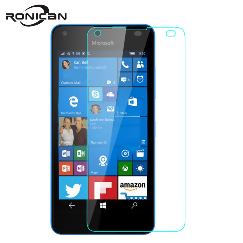 For Nokia Microsoft Lumia 550 Tempered Glass Screen Protector 9H 0.26MM 2.5D Anti-Shock Safety Protective Film On Lumia550 N550For Nokia Microsoft Lumia 550 Tempered Glass Screen Protector 9H 0.26MM 2.5D Anti-Shock Safety Protective Film On Lumia550 N550