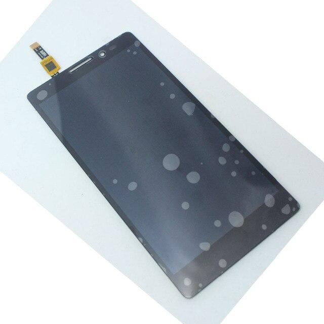 Аксессуары ЖК-Дисплей С Сенсорным Экраном Дигитайзер Для Lenovo VIBE Z K910 BLAKC