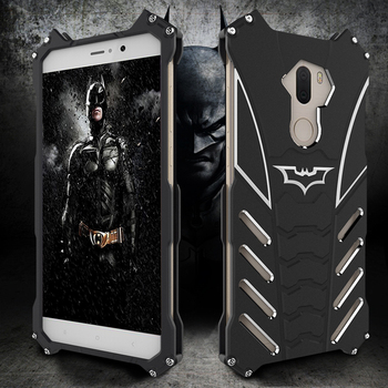 R-just Phone Cases For Xiaomi 5s 5c Plus Batman Steel Material Case For Xiaomi 6x 6 Plus Mobile Phone Back Cover image
