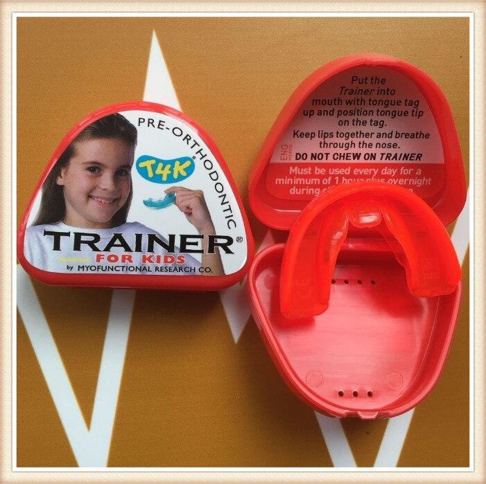 Купить с кэшбэком t4k teeth orthodontic trainer made in australia Phase 2 red color