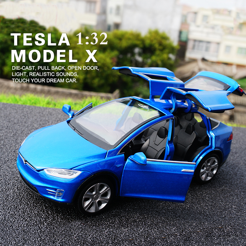 New-132-Tesla-MODEL-X-Alloy-Car-Model-Diecasts-Toy-Vehicles-Toy-Cars-Free-Shipping-Kid-Toys-For-Children-Christmas-Gifts-1