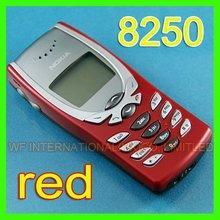 8250 один год гарантии 2G GSM 900/1800 разблокирована Nokia 8250 мобильный телефон Восстановленный и красный