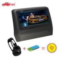 CARAVAN 9 Inch HD LCD Screen Portable Car Headrest Monitor Slot In DVD Player 800 480