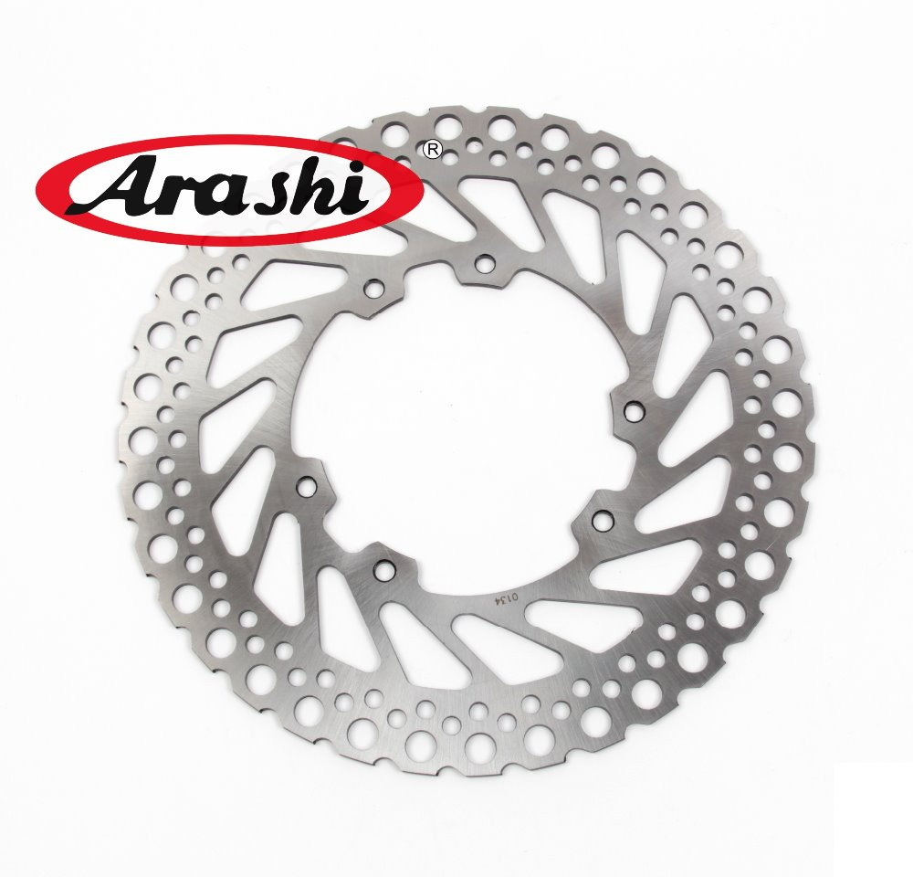 Arashi CNC Front Brake Disc Brake Rotors For HONDA CR125E CR125R CR250E CR250R 1995 -2001 2002 2003 2004 2005 2006 2007 2008 arashi 1pair for suzuki gsxr1000 gsxr 1000 2005 2006 2007 2008 cnc front brake disc brake rotors gsx1000 r motorcycle parts
