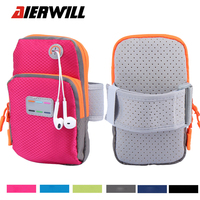 Men Women Messenger Bags Running WaterProof Nylon Arm Wrist Band Bag Sport Outdoor Phone Case Cover