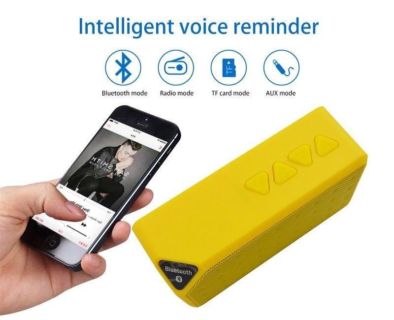 Bluetooth Speakers Wireless Bluetooth Speaker Mini Portable Magic Cube Bluetooth Speaker Bass blue normal 5