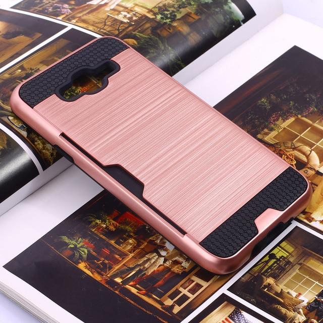 quality design c0b99 ed296 US $6.67 7% OFF|Rugged Hybrid armor defend cover For Samsung galaxy j3 case  shockproof case Samsung j3 2016 etui coque kryt pouzdra capa puzdra-in ...