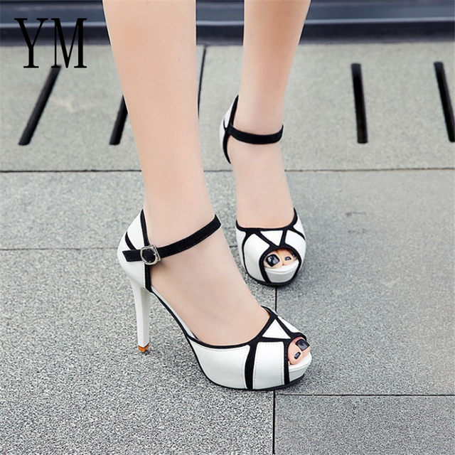 2018 Flock New High Heel Lady Casual black/Red Women Sneakers Leisure Platform Shoes Breathable Height Increasing Shoes 53