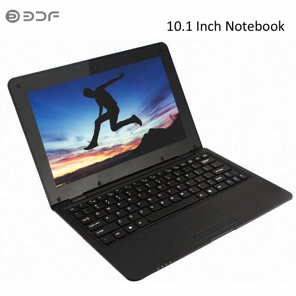 2019 BDF New 10.1 Inch Notebook Laptop  inch Quad Core Android 6.0 7029 1.5 GHZ  Wifi Bluetooth Mini Notebook