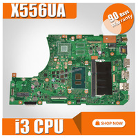 X556UA Motherboard I3 CPU For ASUS X556U X556UJ X556UV Laptop motherboard X556UA Mainboard X556UA Motherboard test 100% OK