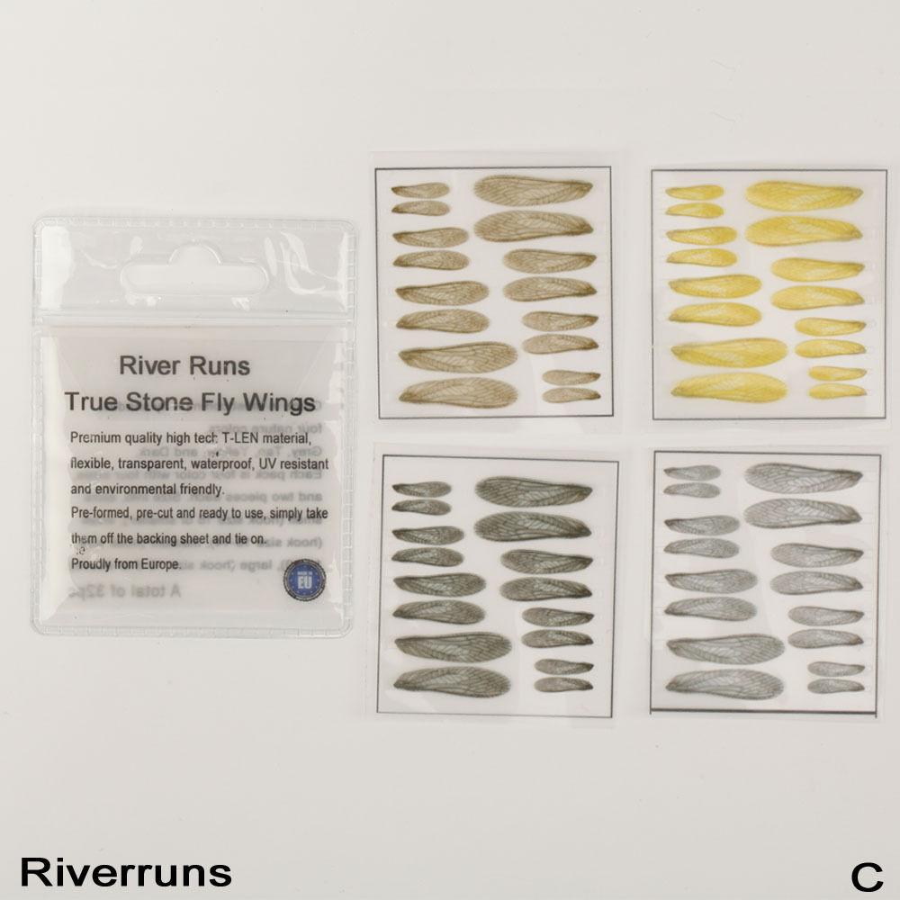 Riverruns Gammarus Back Super Realistic Fly Tying Material Nature Color