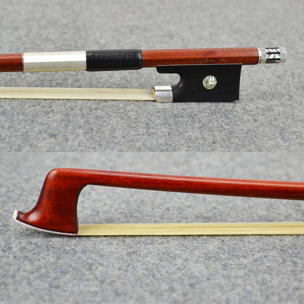 FREE CASE 4/4 Size Master Pernambuco VIOLIN BOW High Density Ebony Frog Pure Silver Fitted Straight Strong Violin Accessories a1 cam мойка кухонная сафари lava