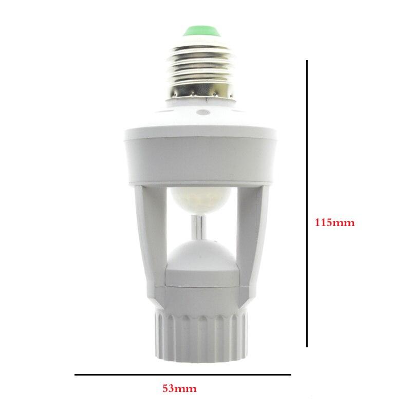 Bases da Lâmpada sensor ir infrared humano e27 Modelo Número : Led Light Sensor Switch