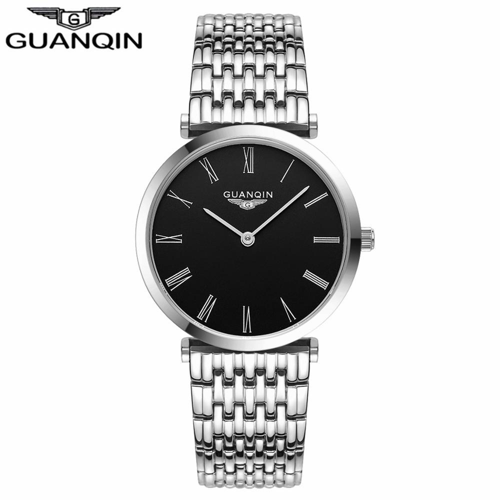 GUANQIN Women Watches 2017 Luxury Top Brand Watch Women Casual Fashion Gold Silver Steel Quartz Girl Watches relogio feminino (3)