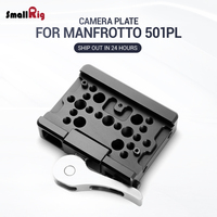 SmallRig For Manfrotto Tripod Plate Video Drop In Baseplate ( For Manfrotto 501PL ) Camera Camcorders Quick Release Plate 2006