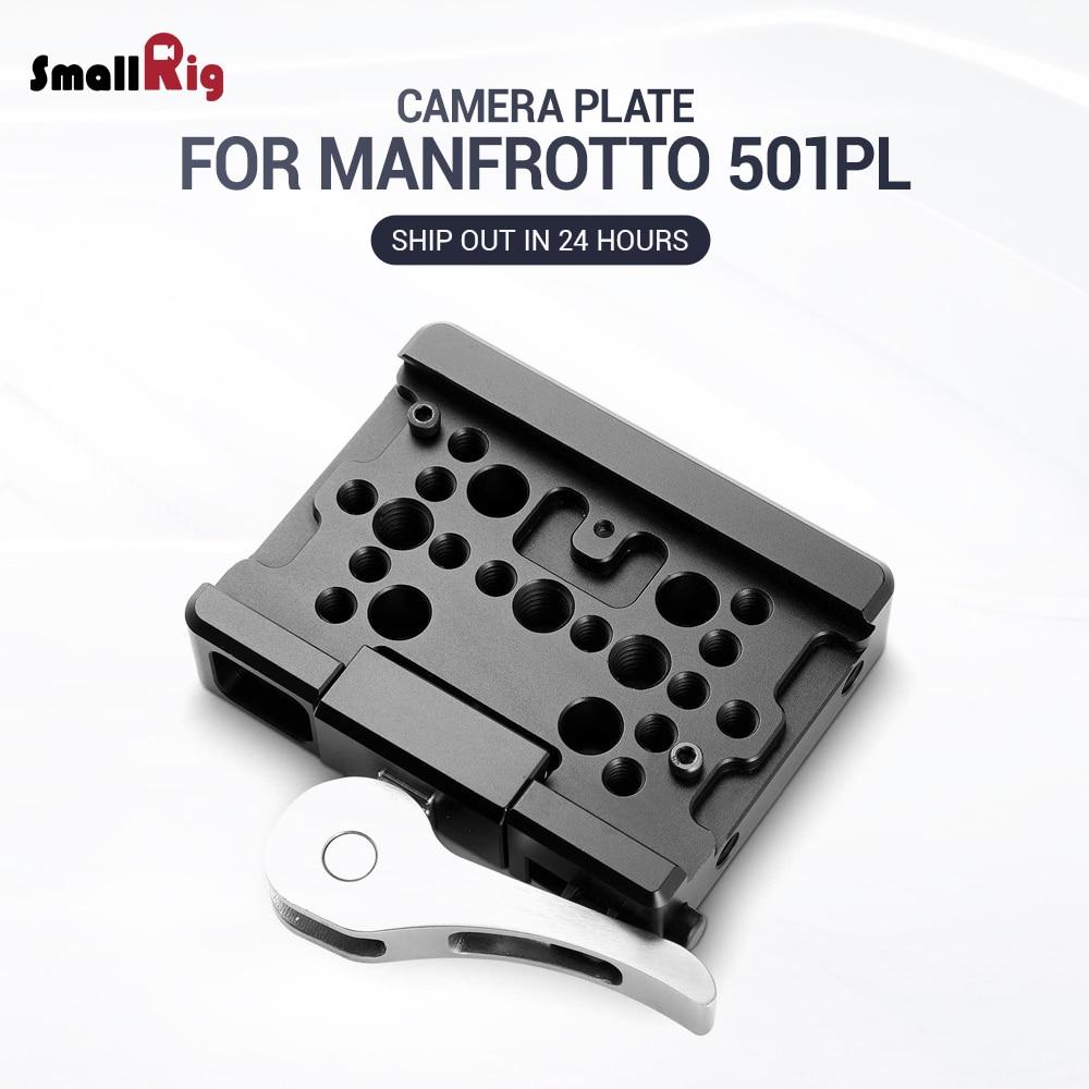 SmallRig для штатива Manfrotto пластина для видеосъемки (для камер Manfrotto 501PL) пластина быстрого крепления 2006