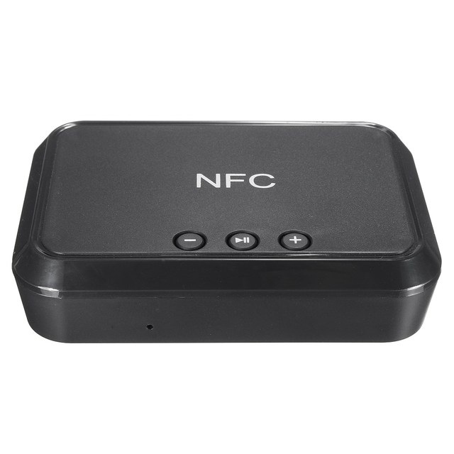 High Quality Wireless Bluetooth 4.1 NFC Stereo Audio Receiver  RCA 3.5mm Speaker Music Adapter