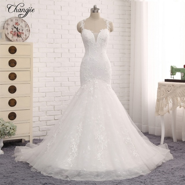 Vestidos de boda sirena