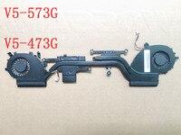 Original For Acer Aspire V5 573G V5 573 V5 473G V5 473 Heatsink Cooling Fan 34ZRKTMTN00